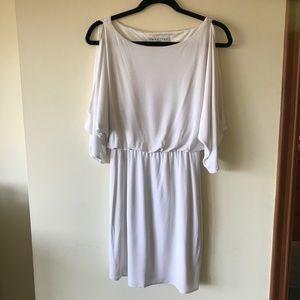 Trina Turk white goddess tunic dress